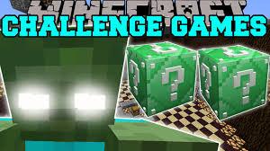 Challenge Minecraft Minecraft Titan Challenge Lucky Block Mod Modded