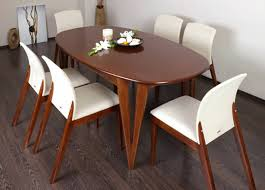 shaped dining table photo gallery of oval shaped dining table designs viewing 2 of 15