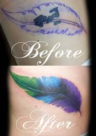 feather tattoo cover up google search tattoos pinterest