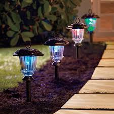led solar path lights set of 4 improvements catalog