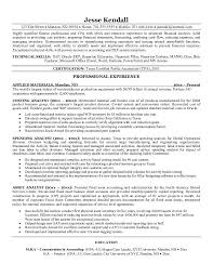 Systems Analyst Resume Example by Free Cost Spending Asset Analyst Resume Example