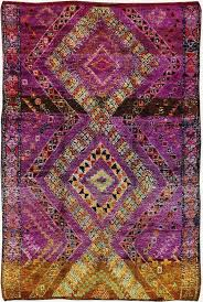 Vintage Moroccan Rug 50 Most Dramatic Gorgeous Colorful Area Rugs For Modern Living Rooms