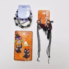 halloween earrings claire u0027s jewelry lot halloween accessories clip bracelets
