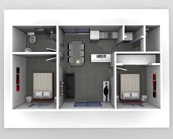 Two Bedroom Flat Floor Plan 2 Bedroom Apartment Floor Plans 3d Two Bedroom Flat Design Plans