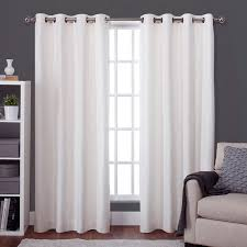 Insulated Thermal Curtains Exclusive Home Twig Grommet Curtain Panel Pair Hayneedle