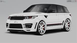 land rover evoque black modified lumma design range rover sport modified