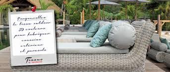 tissu canapé au mètre toile extérieur garantie uv teflon pour la confection de coussin