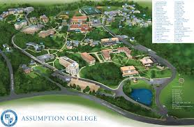 Boston College Campus Map by Assumption Breaks Ground With A New Academic Building