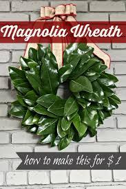 magnolia leaf wreath 15 minute magnolia leaf wreath tutorial southern state of mind