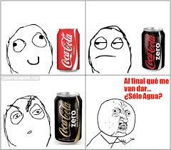 Memes Coca Cola - cu磧nto cabr祿n coca cola zero sin cafe祗na ni burbujas de color
