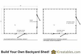 12x16 short shed plans 8 u0027 4