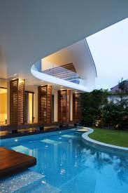 interior the best modern mansions designs with swimming pool and