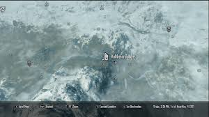 Treasure Map 3 Skyrim Image Valtheimtowersmap Jpg Elder Scrolls Fandom Powered By