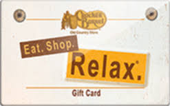 cracker barrel gift card cracker barrel country store gift card check your balance
