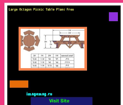 Free Octagon Picnic Table Plans Pdf by The 25 Best Octagon Picnic Table Ideas On Pinterest Picnic