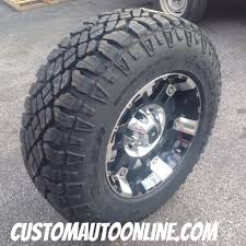 Goodyear Wrangler Off Road Tires Custom Automotive Packages Off Road Packages 17x9 Xd Spy