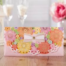 lucky envelopes luxury envelopes for wedding 2017 gold pink multicolour lace gift