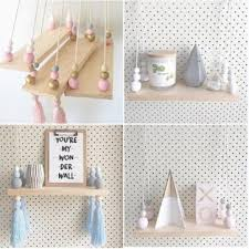 baby bedroom wall hanging ornaments tassel pearl pendant