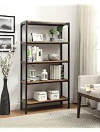 Backless Bookshelf Bookcases Amazon Com