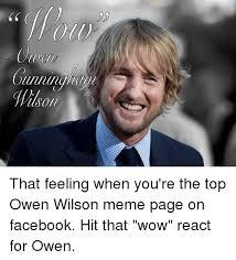 Owen Wilson Meme - 25 best memes about owen wilson meme owen wilson memes