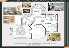 octagon home floor plans house plans 65805