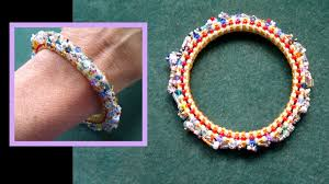beaded bracelet tutorials youtube images Beading4perfectionists stitch nr 6 cubic right angle weave jpg