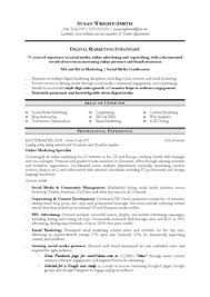 Sample Marketing Resumes by Seo Manager Resume Best Sample Free Examples Compare Writing