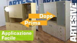Adesivi Per Mobili Ikea by Applicazione Facile Della Pellicola Adesiva Per Mobili Solo