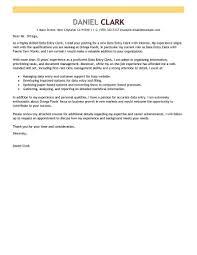 Data Entry Resume Excellent Data Entry Operator Cover Letter For Resume Cover Letter