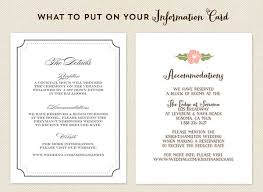 what to put on a wedding invitation things to put on a wedding invitation best 25 accommodations card