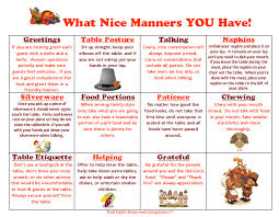 printable etiquette worksheets what nice manners you have