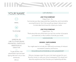 contemporary resume header and footer 50 free microsoft word resume templates that ll land you the job