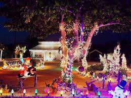 outdoor light display ideas led lights white
