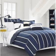 Blue And White Comforter Striped Bedding You U0027ll Love Wayfair
