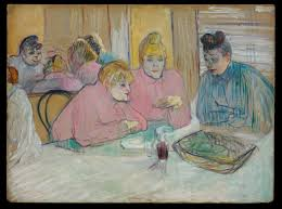Art For The Dining Room by File Henri De Toulouse Lautrec The Ladies In The Dining Room
