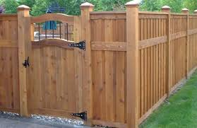Backyard Fence Decorating Ideas by Impressive Design Outdoor Fences Exciting Outdoor Fence