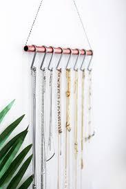 necklace holder diy images Diy necklace holder for the minimalist home decor diy jpg