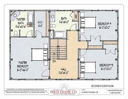 colonial homes floor plans barn house plans classic colonial layout 1b davis frame