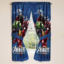 bedroom curtains at walmart avengers boys bedroom curtains set of 2 walmart com