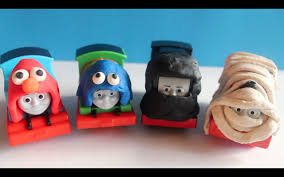 thomas and friends halloween costume play doh elmo cookie monster