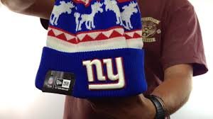 New York Giants Flag Ny Giants U0027the Mooser U0027 Knit Beanie Hat By New Era Youtube