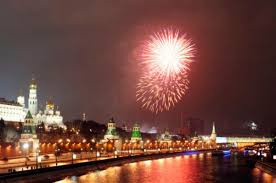 new year week in russia