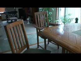 woodworking dining room table woodworking project dining room table and chairs youtube