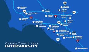 Cal State Fullerton Map Oc Intervarsity U2013 Church Partnerships Tim Talks God