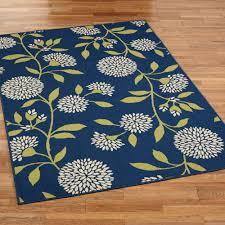 Outdoor Throw Rugs Dandelion Floral Indoor Outdoor Area Rugs