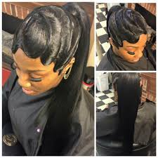 yes top knot via the rose affect https blackhairinformation
