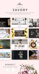 wordpress templates for websites savory a beautiful restaurant wordpress theme by elated themes