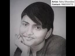 pencil sketch u0026 charcoal painting artist in pune u0026 mumbai youtube