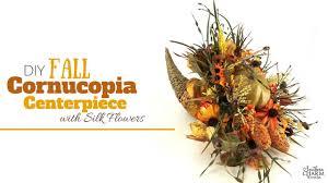 cornucopia centerpiece fall cornucopia centerpiece tutorial with silk flowers