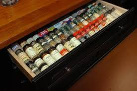 Spice Rack In A Drawer Pull Out Drawers Cabinets And Shelves Oh My Kitchen Design